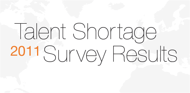 Talent shortage survey 2011 results