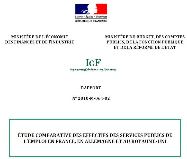 SPE - Etude IGF