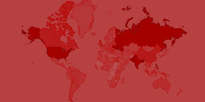 oDesk World Map 2