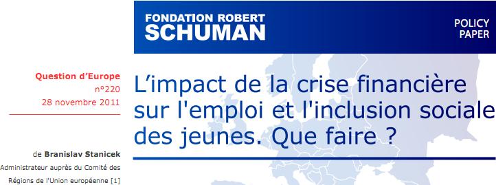 Question d'Europe - Fondation Robert Schuman