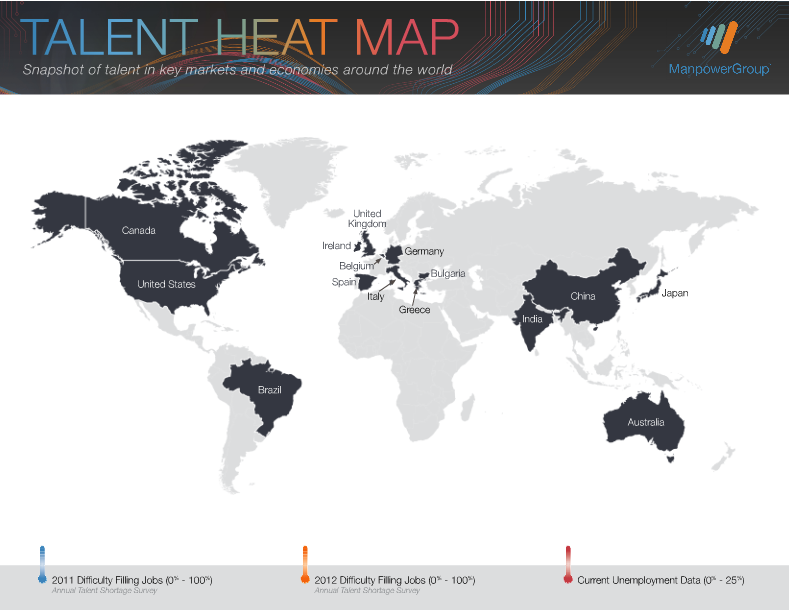 Talent Heat Map 2012