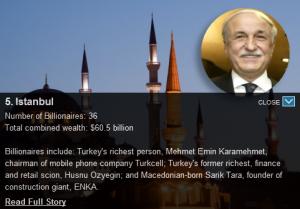 Turquie - Milliardaires