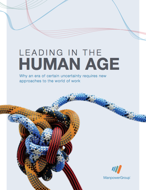 Leading in the Human Age - Couverture Livre Blanc