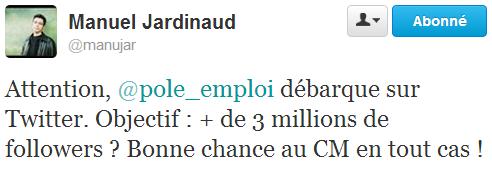 Tweet Jardinaud