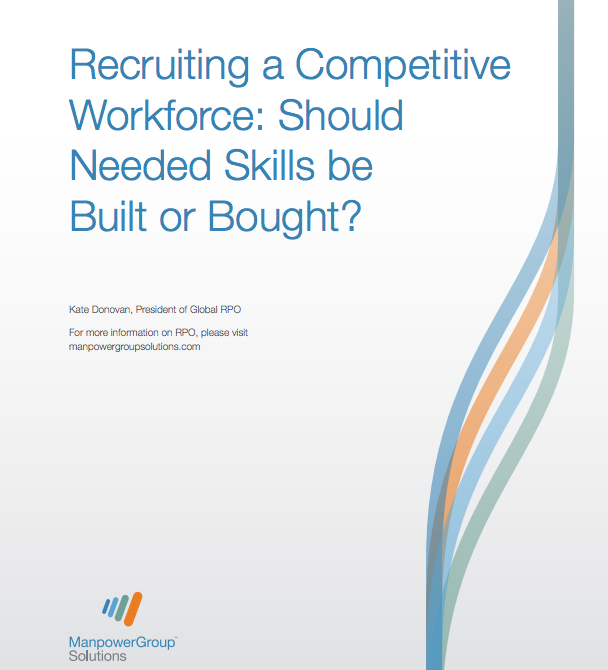 Recruiting a competitive workforce - Buy vs Build