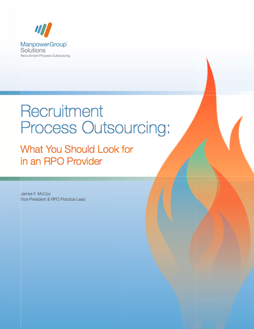 Recruitment Process Outsourcing - RPO - White paper