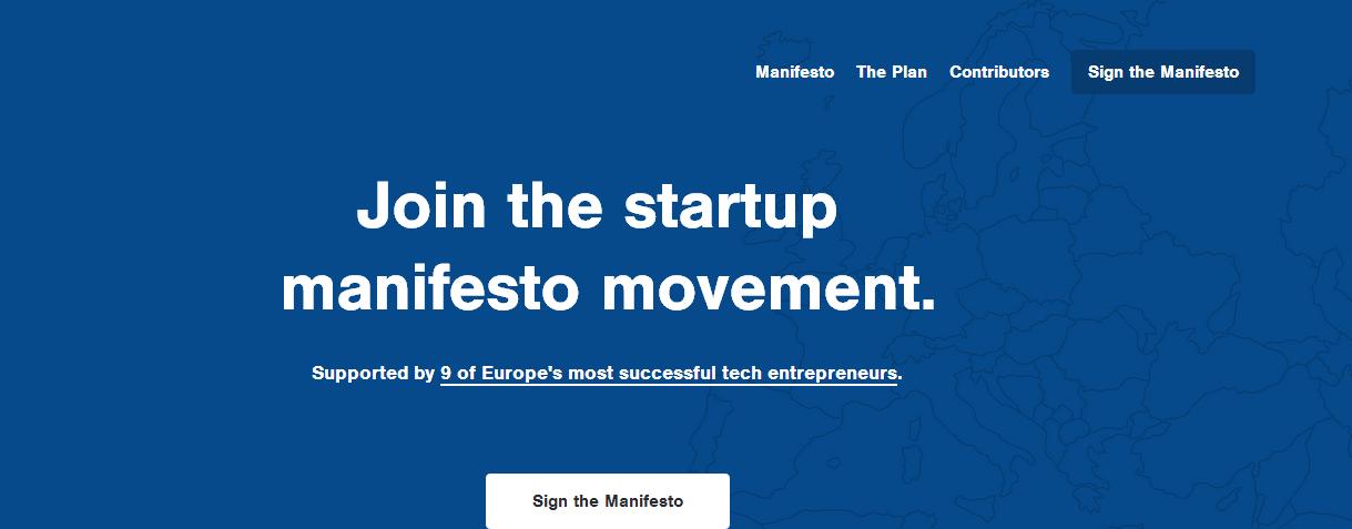Le Manifeste des start-up