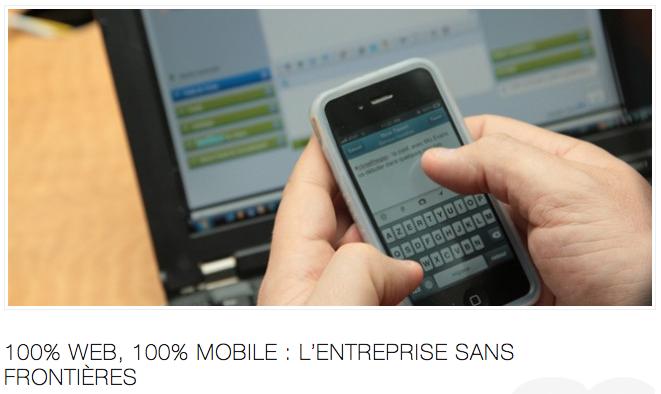 Entreprise web mobile