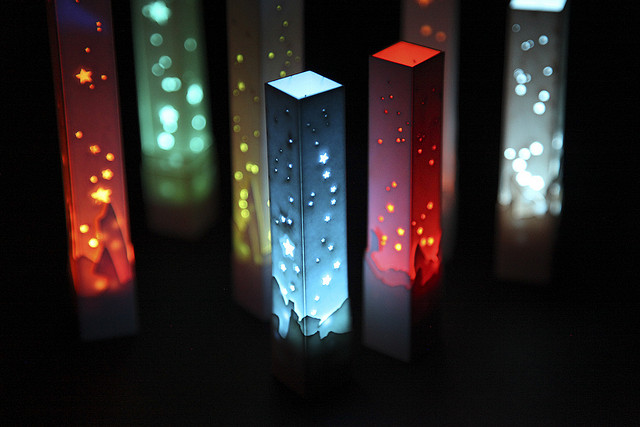 lased LED light towers