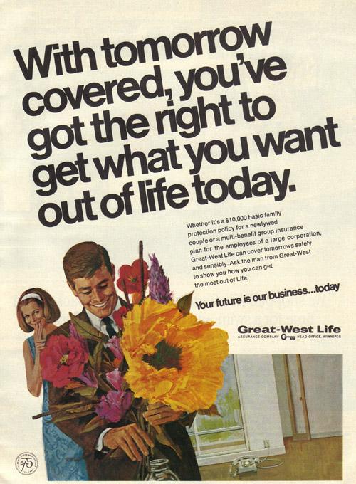 assurance vintage ad