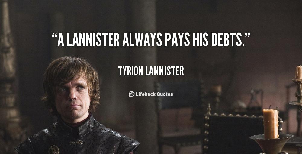 Lannister-dette