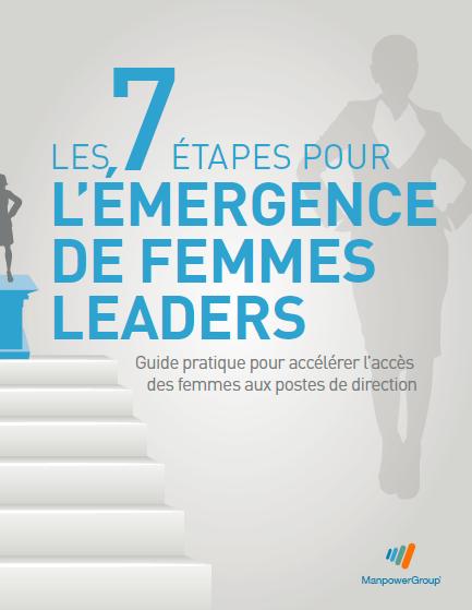Les 7 étpaes pour l'émergence des femmes leaders