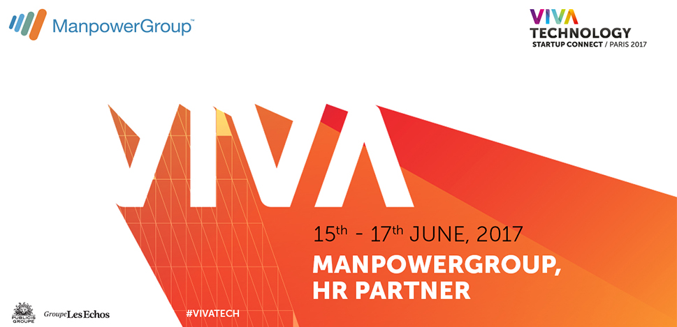 ManpowerGroup, partenaire RH de la 2ème édition de VIVA Technology