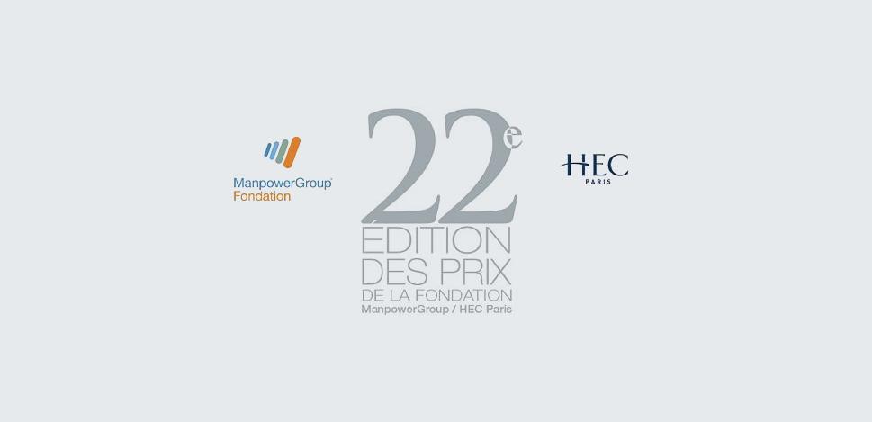 22e édition des Prix de la Fondation ManpowerGroup-HEC Paris: les lauréats dévoilés