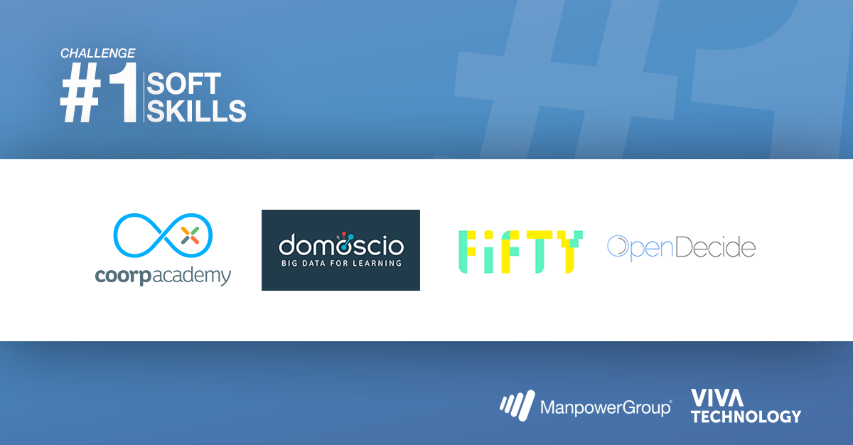 Twitter card : startups sélectionnées au challenge 1 VivaTech