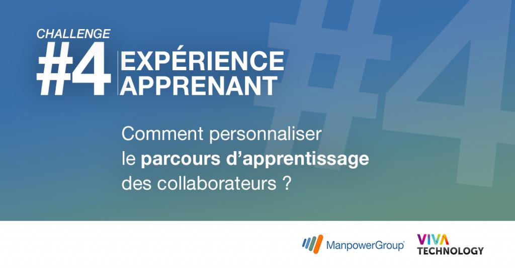 Viva Technology challenge 4 Expérience apprenant